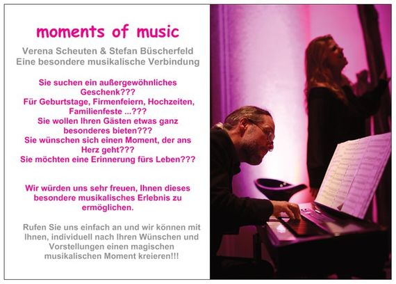moments of music Verena Scheuten