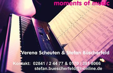moments of music